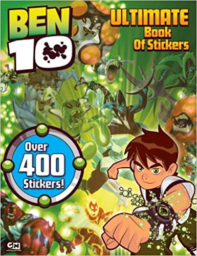 Ben 10 Ultimate Book of Stickers Modern Publishing Cartoon