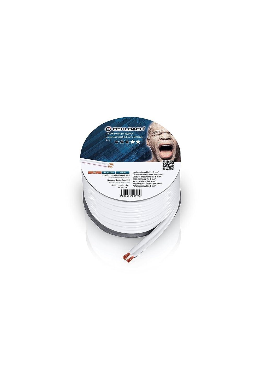 Oehlbach Speaker Wire SP-15 Lautsprecherkabel 2 x 1,5: Amazon.de ...