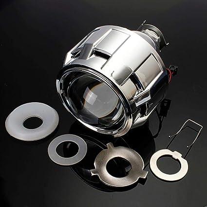 2,5 pulgadas Motor Bi- xenon HID Proyector ángulo del ojo de Halo ...