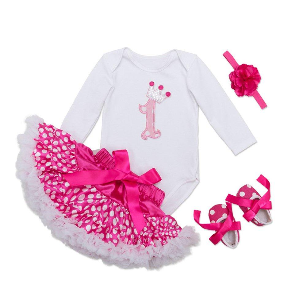 Fairy Baby DRESS ベビーガールズ L (6-12 Months) First Birthday Candle B07CCZNZ5P
