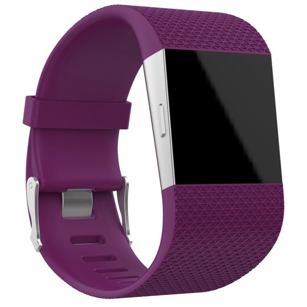 For Fitbit Surge腕時計バンド、hp95 ( TM ) Large & Smallサイズ交換リストバンドバンドストラップ+クラスプバックルツールキットfor Fitbit Surge Large Size パープル HP-F-SurgeBand  パープル Large Size B075FR8Z7R