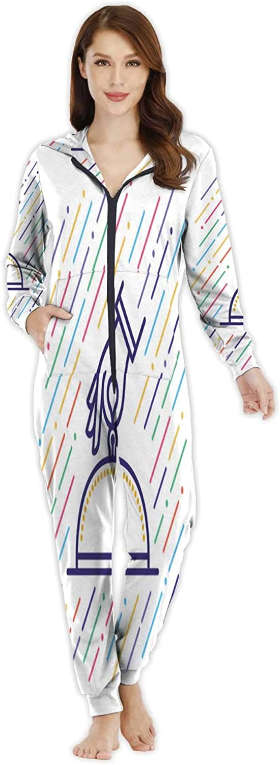 Confectionery and Sweets Icons - Lollipop,Women's Onesie Pajamas Sportswear Crois - t M