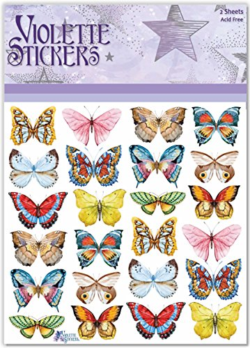 Violette Stickers LIttle Butterflies
