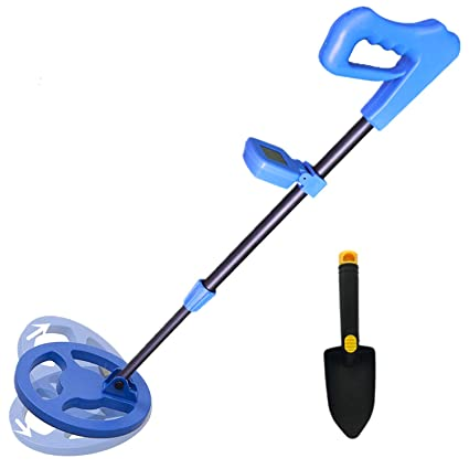 TIANG Kids Metal Detector, Handheld Waterproof Metal Detector for Kids with High Sensitivity, LCD