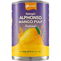 Pursuit Ratnagiri Alphonso Mango Pulp, 850g