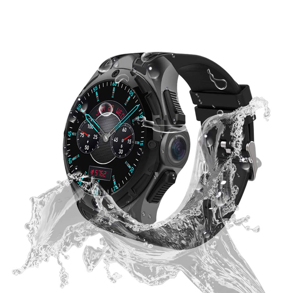 AllCall Waterproof smartwatch Android IP68 Professional Waterproof 3G Smartwatch Phone 2GB RAM 16GB ROM 2.0MP Camera GPS Sports Fitness Tracker 460mAh ...