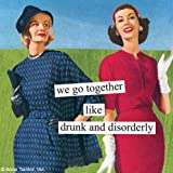 Paperproducts Design 20-Pack Drunk and Disorderly Paper Cocktail Napkins