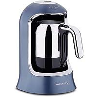 Korkmaz A860-08 Kahvekolik Otomatik Kahve Makinesi Azura, Siyah