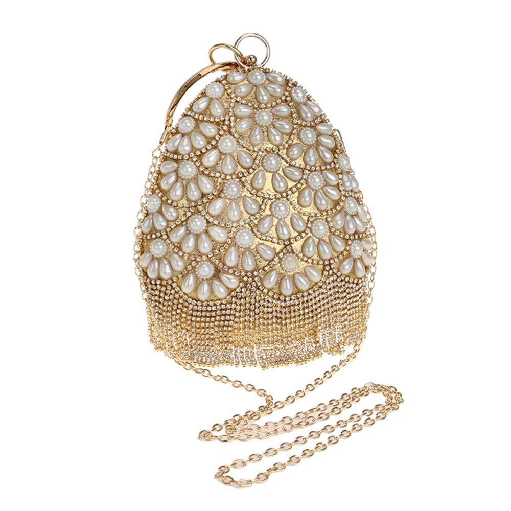 Hi-Smile Mini-Geldbörse Obst Eimer Eimer Eimer Formte Frauen Abendtaschen Perlen Lady Quaste Strass Mit Diamanten Clutch Perle Hochzeit Handtaschen Geldbörse (Größe   rot) B07PRJGXPR Geldbrsen 532327