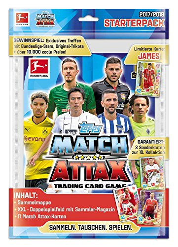 Match Attax Weihnachtskalender.Match Attax Bundesliga 2017 2018 Starterpack Xl German Version