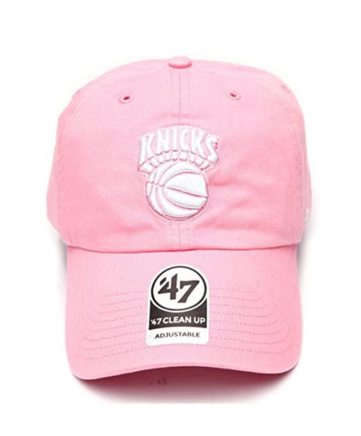Amazon.com   New York Knicks 47 Brand Clean Up Cap (Pink)   Clothing a8106998822