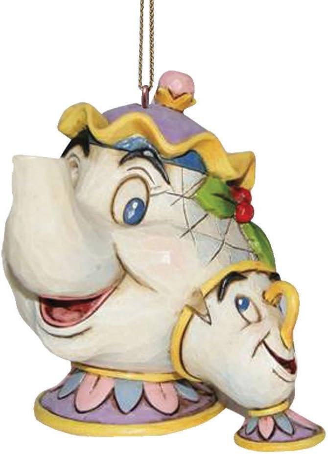 Disney Traditions Figurillas Decorativas con diseño Tradition, Resina, Multicolor, 6.5 x 1.1 cm
