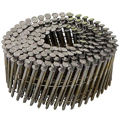 """DeWalt DWC6R90BDG 2"""" by .090 Ring Galv Siding Nail (3, 600 Per Box), Steel, Flat, Others by DeWalt"""