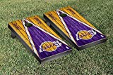 Los Angeles LA Lakers NBA Basketball Regulation Cornhole Game Set Triangle Weathered Version