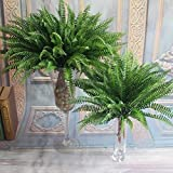 corn snake for sale - Zehui 1PCS Artificial Lifelike Large Silk Boston Fern Plant Green Grass Home Decoration