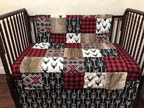 Nursery Bedding Woodland Crib Bedding Set Deer Crib