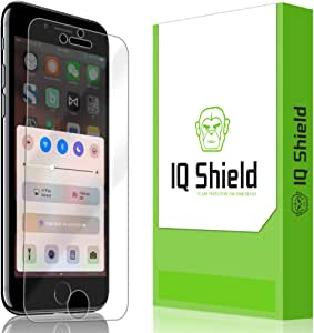 IQ Shield Screen Protector Compatible with Apple iPhone 7 (iPhone 6s 4.7 inch, iPhone 6) LiquidSkin Anti-Bubble Clear Film