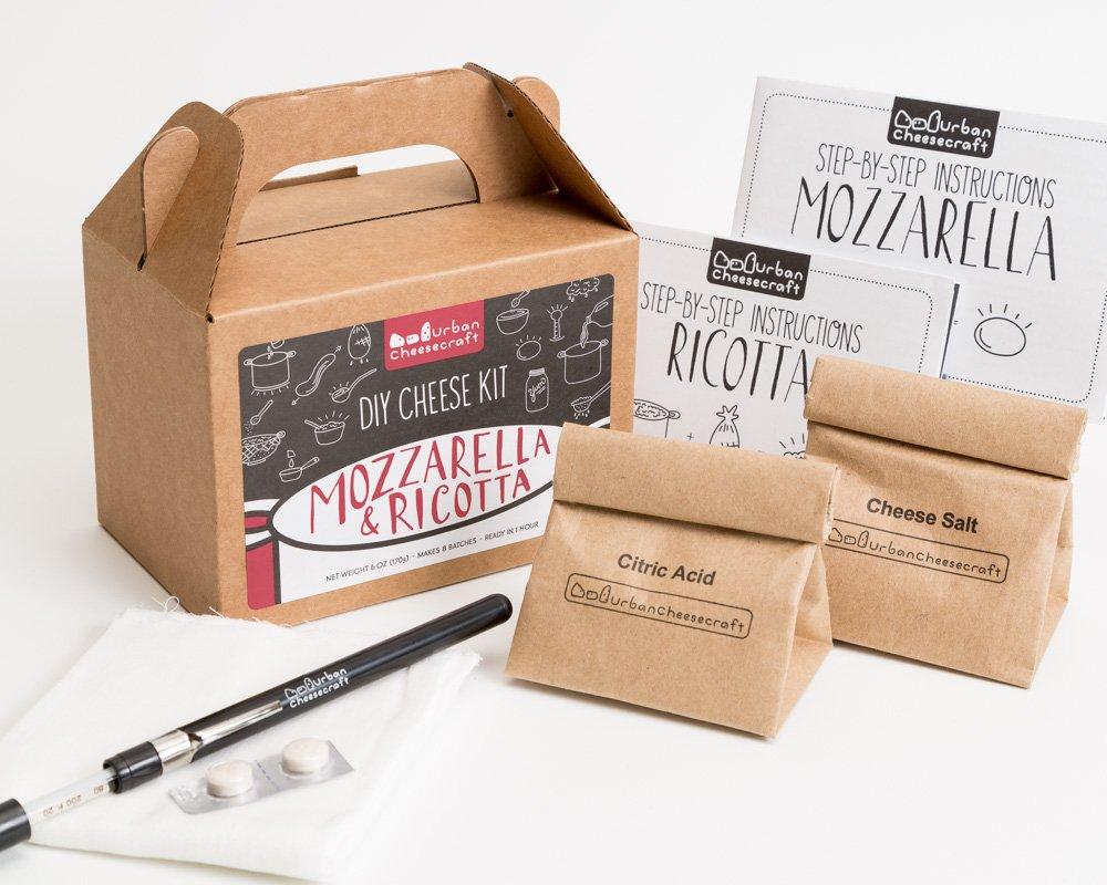Mozzarella and Ricotta DIY Cheese Kit