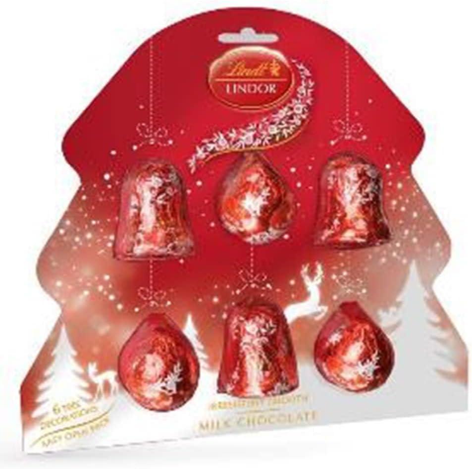 Lindt Lindor Chocolate Christmas Tree Decorations 120g New Year Celebration