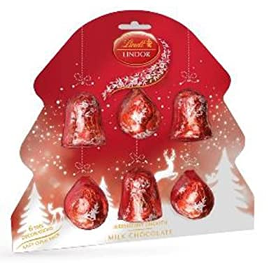 Lindt Lindor Chocolate Christmas Tree Decorations: Amazon.co.uk: Grocery
