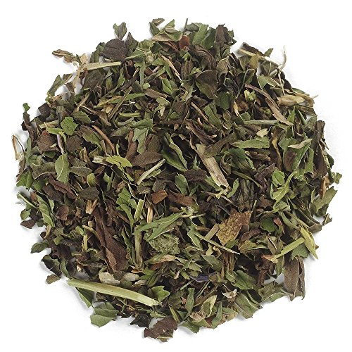 Frontier Co-op Organic Peppermint Leaf, Cut & Sifted, 1 Pound Bulk Bag (Tea Peppermint Tea Leaves)