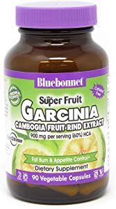 BlueBonnet Super Carcinia Cambogia Fruit Rind Supplement, 90 Count (743715011922)