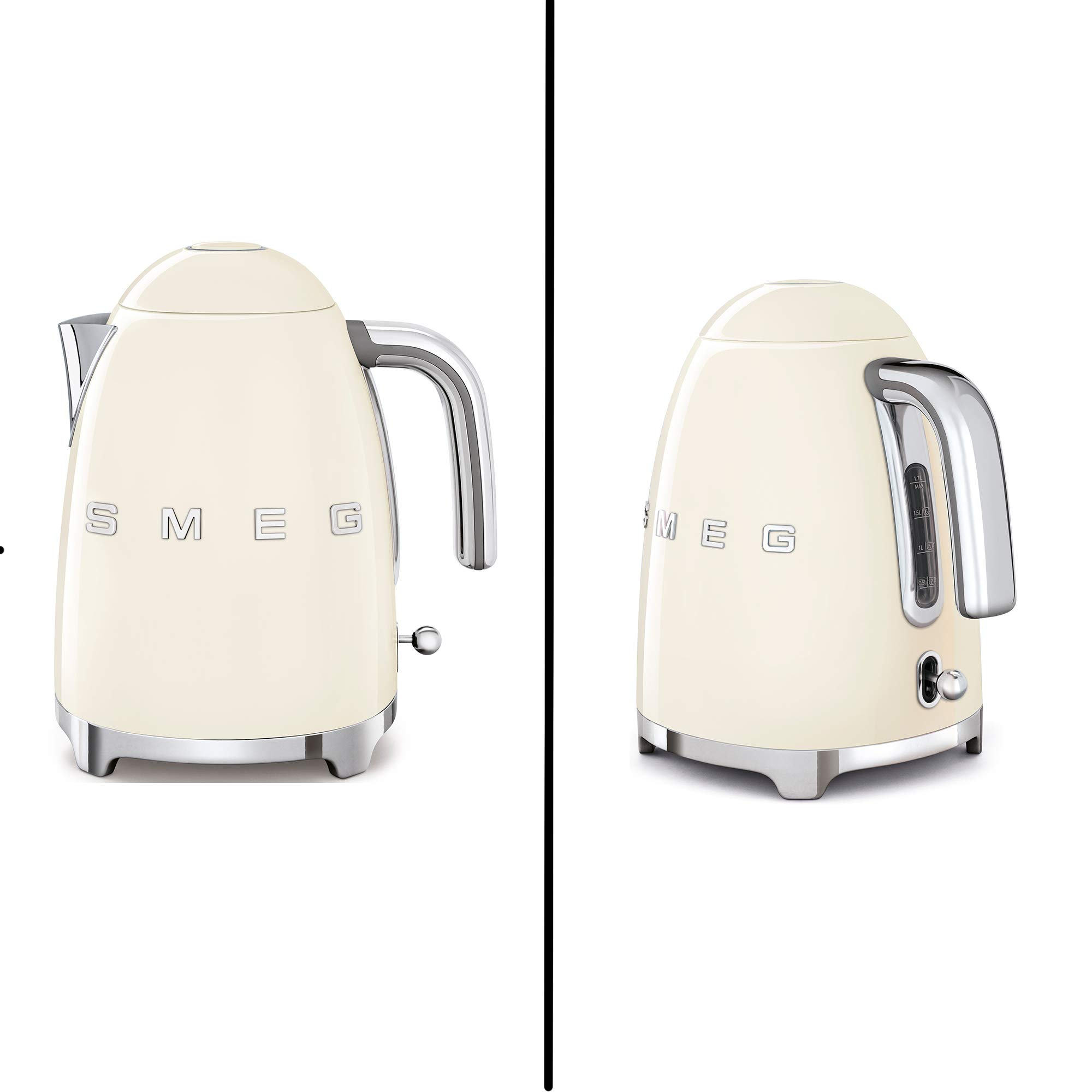 SMEG 2-Slice Toaster & 1.7-Liter Kettle in Cream by WhoIs Camera (Image #4)