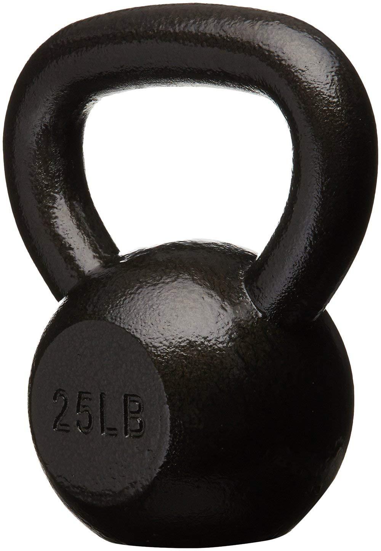 AmazonBasics Cast Iron Kettlebell, 25 lb by AmazonBasics (Image #2)
