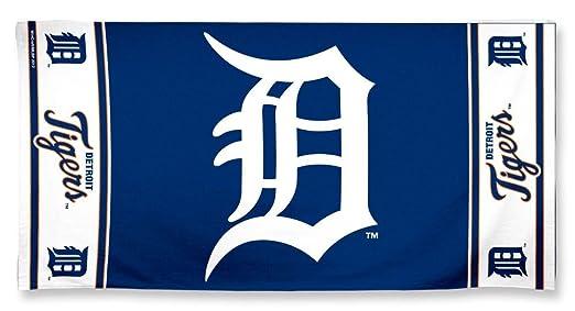 Amazon.com : MLB Detroit Tigers Beach Towel, Team Color, One Size ...