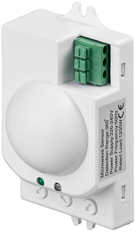 Detector de movimiento con sensor de microondas por radar de alta ...