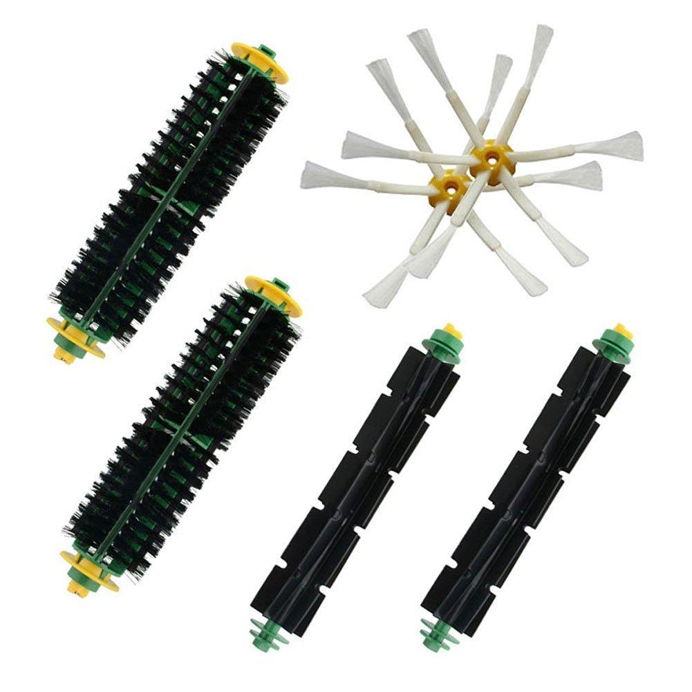 LOVE(TM)Bristle & Flexible Beater Brush for Robot 500 Series Vacuum Cleaner Parts 500 510 520 530 531 532 535 540 550 551 552 560 570 580 595