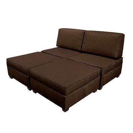Amazon.com: Duobed IMFQB-ES Queen - Sofá cama, poliéster ...