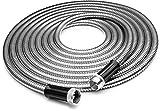 Tiabo Metal Garden Hose 75ft 304 Stainless Steel