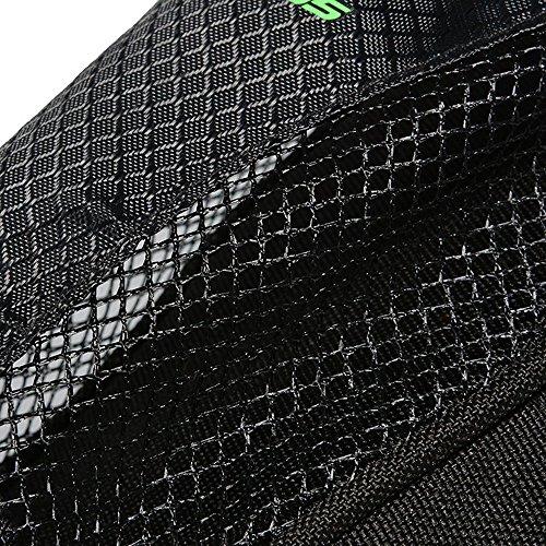 MTB Rennrad Satteltasche Radfahren Pannier-Sitzbeutel Schwanz Storage Rack-Pack schwarz