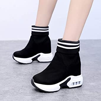 Autumn//Winter Booties for Women,Claystyle Claystyle Leather Buckle Ankle Boots Large Size Side Zipper Casual Shoes