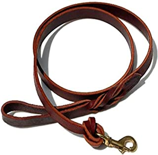 product image for Signature K9 Knot Braided Heavy Leather Leash