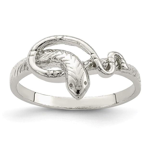 Anillo de serpiente en plata