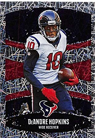 6aa81efaa 2018 Panini NFL Stickers Collection  125 DeAndre Hopkins Houston Texans  Foil Official Football Sticker
