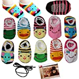 Yaobabymu 10 Pairs Cute Animal Cartoon Unisex Baby Toddler...