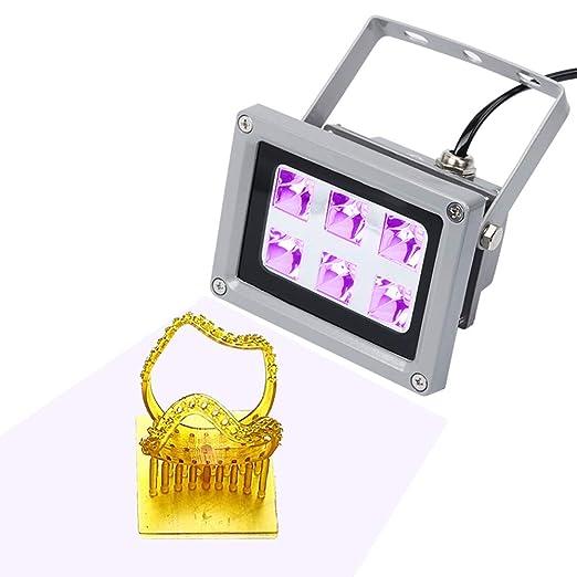 Lámpara UV de resina, para impresora 3D SLA/DLP Solidify, resina ...