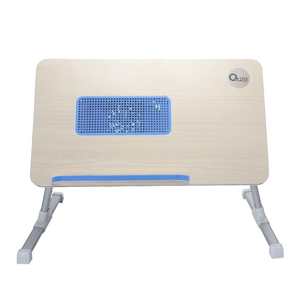 Amazon.com: Quze Soporte ajustable de madera para notebook ...
