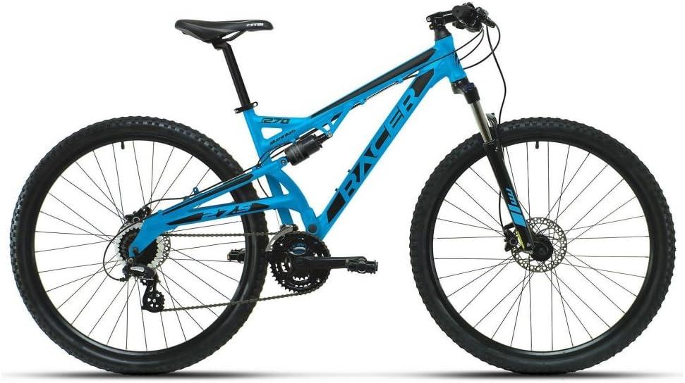 RACER 2665403031 - Bicicleta MTB 27,5p FS TL Azul: Amazon.es: Deportes y aire libre