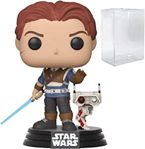 Star Wars: Jedi Fallen Order - Cal Kestis with BD-1 Pop! Vinyl Figure (Includes Compatible Pop Box Protector Case)
