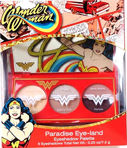 "Wonder Woman ""Paradise Eye-land"" Eyeshadow Palette"
