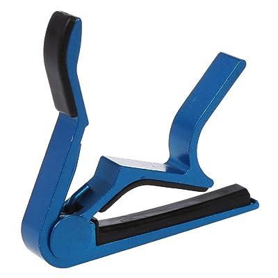 ACAMPTAR 8 cm Clip de Guitarra Clasica Electrica - Azul: Juguetes y juegos
