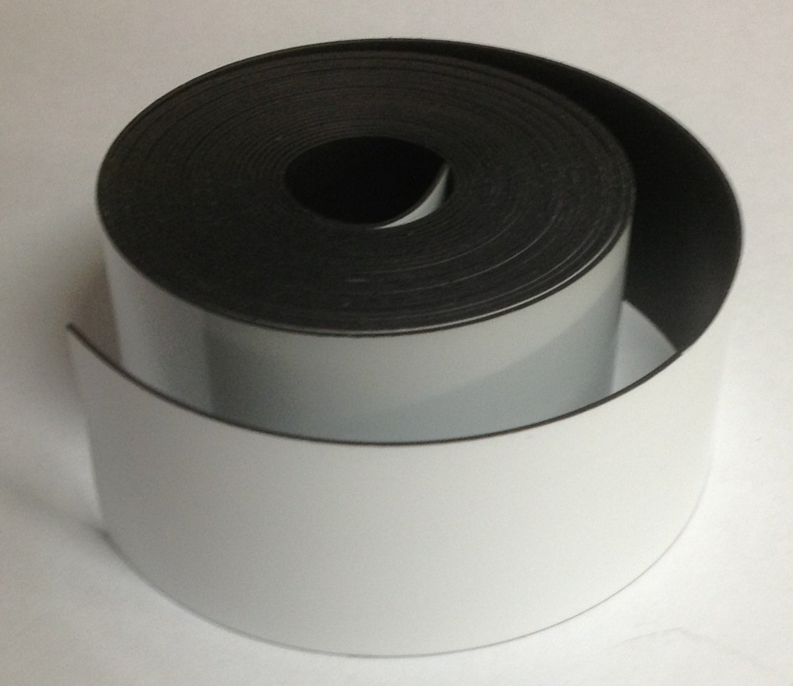 Magnet Valley Dry Erase Magnet Strip Roll 1/2' x 10' Write on/Wipe Off