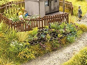Landschaftsbau-Set. Faller 180929 St/ützwandbl/öcke 80