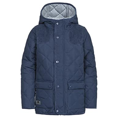 2be5951f41ee Trespass Boys   Girls Nebraska Waterproof Polycotton Quilted Jacket ...