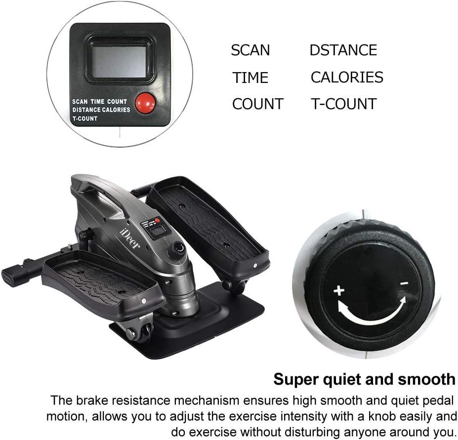 iDeer Life Under Desk&Stand Up bicicleta de ejercicio, Mini ...