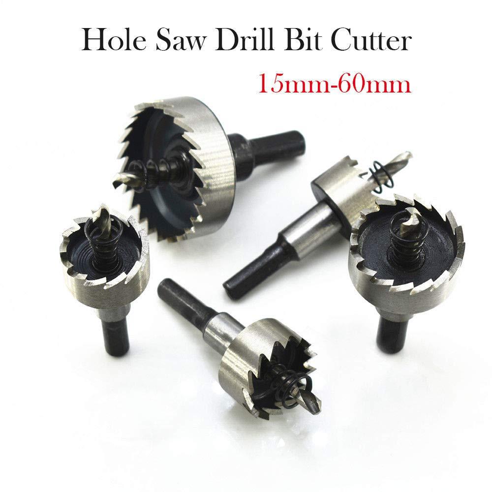 Cortador de agujeros para sierra perforadora MASO 6542 acero HSS, 15 /– 60 mm, para acero, metal, aluminio, tablas